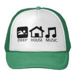 Gorra del camionero de la música de la casa