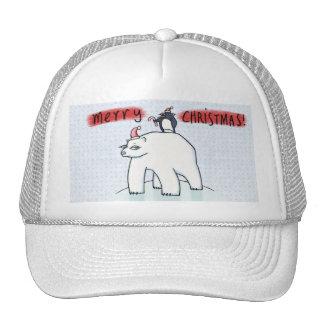 Gorra del camionero de la nieve del navidad del os