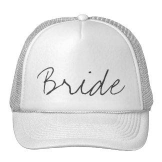 Gorra del camionero de la novia