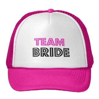 Gorra del camionero de la novia del equipo