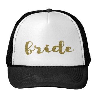 Gorra del camionero de la novia que casa el gorra