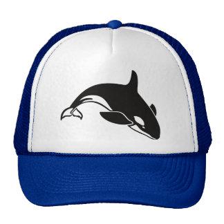 Gorra del camionero de la orca de la orca