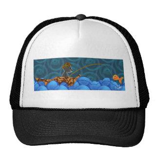 Gorra del camionero de la pesca del gato