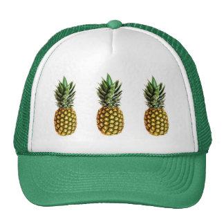 Gorra del camionero de la piña