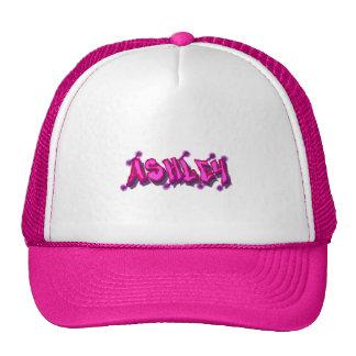 Gorra del camionero de la pintada de Ashley