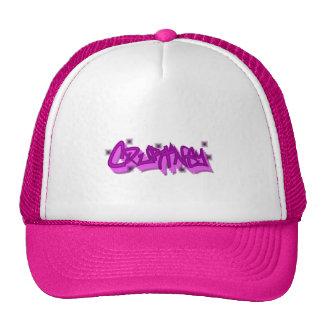 Gorra del camionero de la pintada de Courtney,