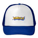 Gorra del camionero de la pintada de Emily,