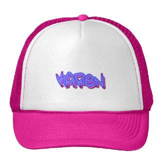 Gorra del camionero de la pintada de Karen,