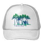 Gorra del camionero de la playa de Surfrider