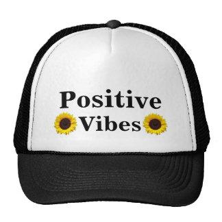 Gorra del camionero de la positividad