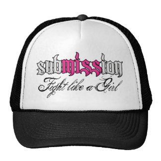 gorra del camionero de la presentación