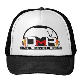 Gorra del camionero de la radio de la mutilación d