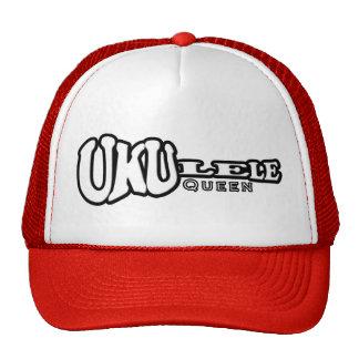 Gorra del camionero de la reina del Ukulele