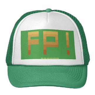 Gorra del camionero de la salmuera de la rana