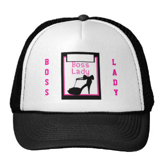 Gorra del camionero de la señora tacón alto de Bos
