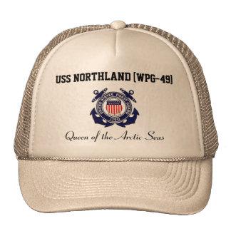 Gorra del camionero de la tierra del norte de USS