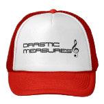 Gorra del camionero de las medidas drásticas (ROJO