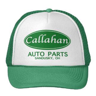 ¡Gorra del camionero de las piezas de automóvil de