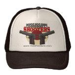 Gorra del camionero de las pistolas de Mississippi