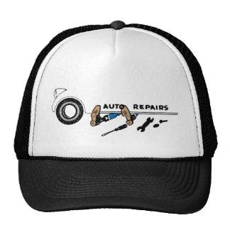Gorra del camionero de las reparaciones autos