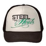 Gorra del camionero de las señoras - talones de ac
