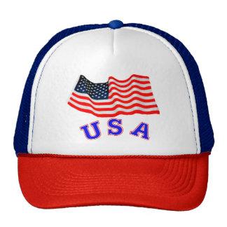 Gorra del camionero de los E.E.U.U.