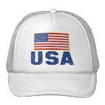 Gorra del camionero de los E.E.U.U. de la bandera