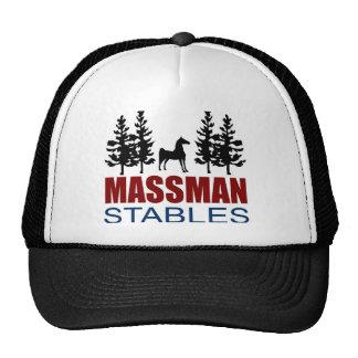 Gorra del camionero de los establos de Massman