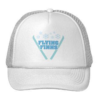 Gorra del camionero de los Finns del vuelo