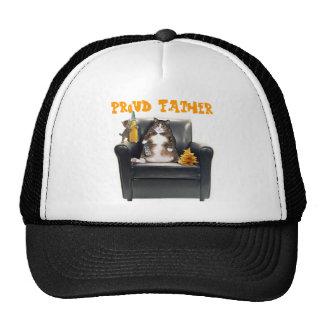 """Gorra del camionero de los gatos del """"padre orgull"""