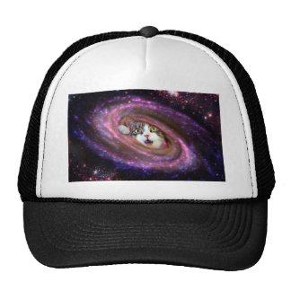 Gorra del camionero de los gatos LOL del espacio