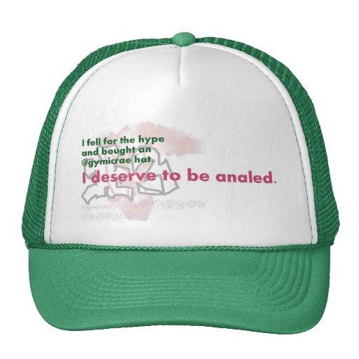 gorra del camionero de los @gymicrae (versión alte