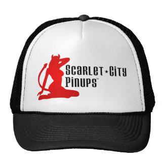 Gorra del camionero de los Pinups de la ciudad del