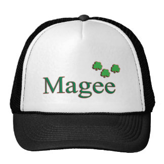 Gorra del camionero de Magee