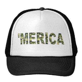 'Gorra del camionero de MERICA Camo