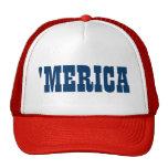Gorra del camionero de Merica para el 4to del