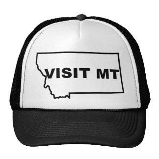 Gorra del camionero de Montana de la visita