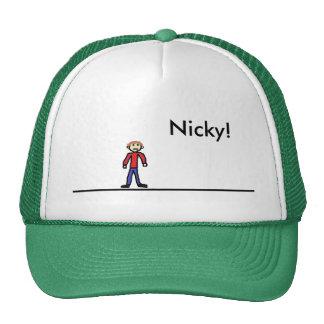 Gorra del camionero de Nicky