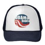 Gorra del camionero de Obama Biden del Grunge