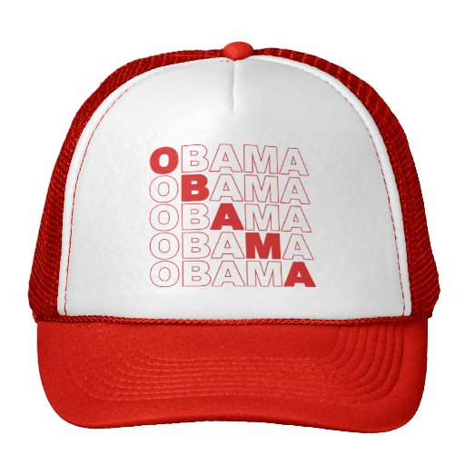 Gorra del camionero de Obama Obama