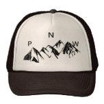 Gorra del camionero de PNW de letras del sistema