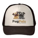 Gorra del camionero de Pug Pals, Inc.