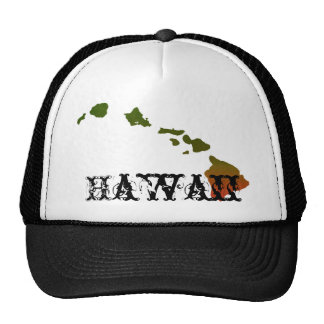 Gorra del camionero de Rasta Hawaii