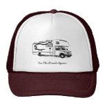 Gorra del camionero de rv