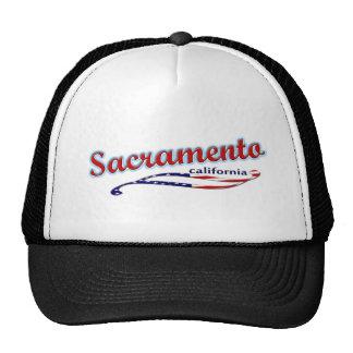 Gorra del camionero de Sacramento California