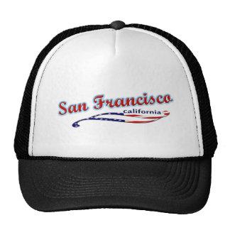 Gorra del camionero de San Francisco California