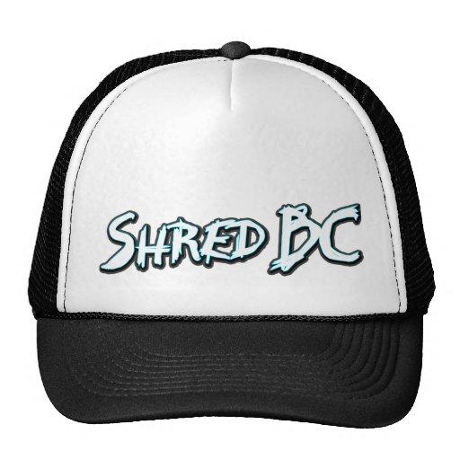 Gorra del camionero de ShredBC