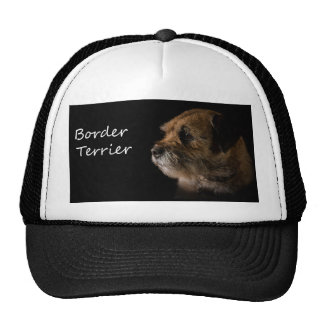 Gorra del camionero de Terrier de frontera