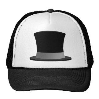 ¡Gorra del camionero de Tophat - estilo Smoking-Ca