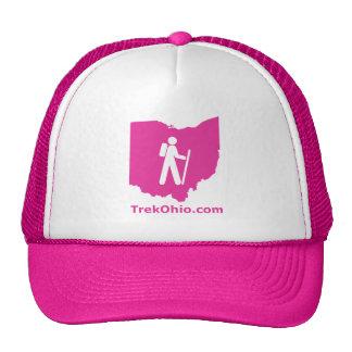 Gorra del camionero de TrekOhio, rosa fuerte